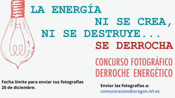 La energía ni se crea, ni se destruye… se derrocha
