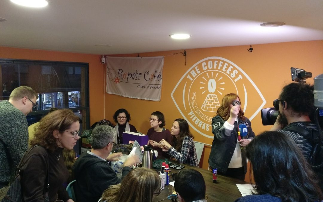 16º Repair Café Asturias. The Coffeest (Piedras Blancas), 24 de enero de 2020.
