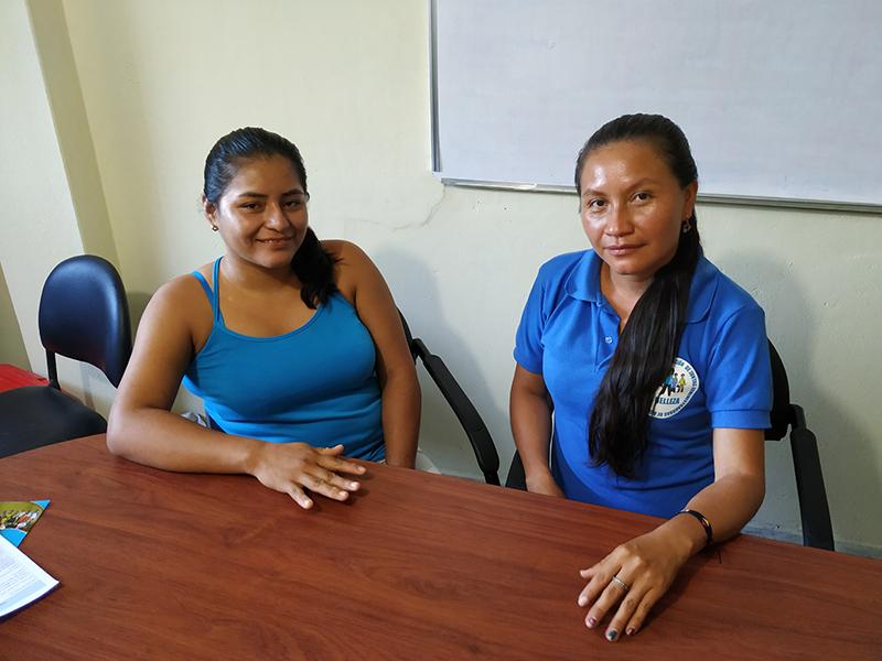 Entrevista a Alicia Tixi i Mónica Shiguango, de la Junta d'Aigua de La Belleza, Equador
