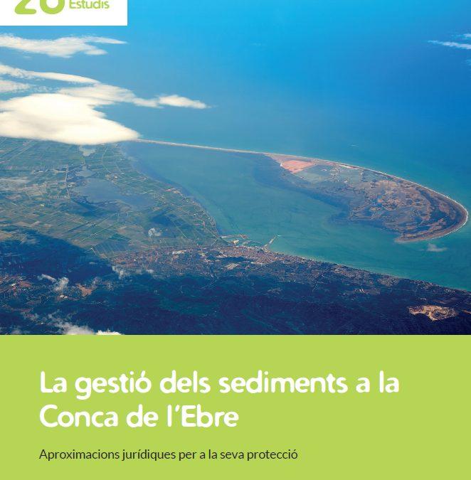Nou estudi: La gestió dels sediments a la Conca de l'Ebre