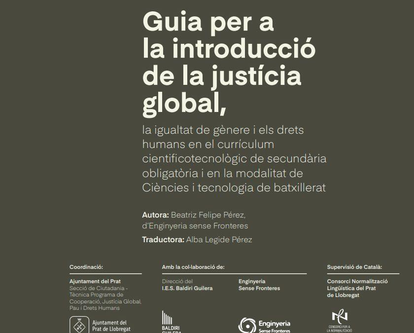 Portem els Drets Humans i la Justícia Global als instituts!