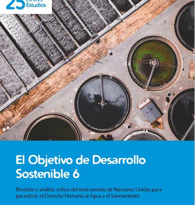 Nuevo estudio: El Objetivo de Desarrollo Sostenible 6