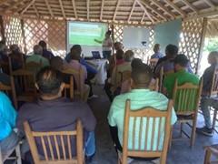 Asamblea de inauguración del proyecto de la República Dominicana