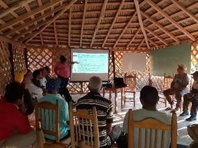Primeras actividades del proyecto con JACARAFE en la República Dominicana