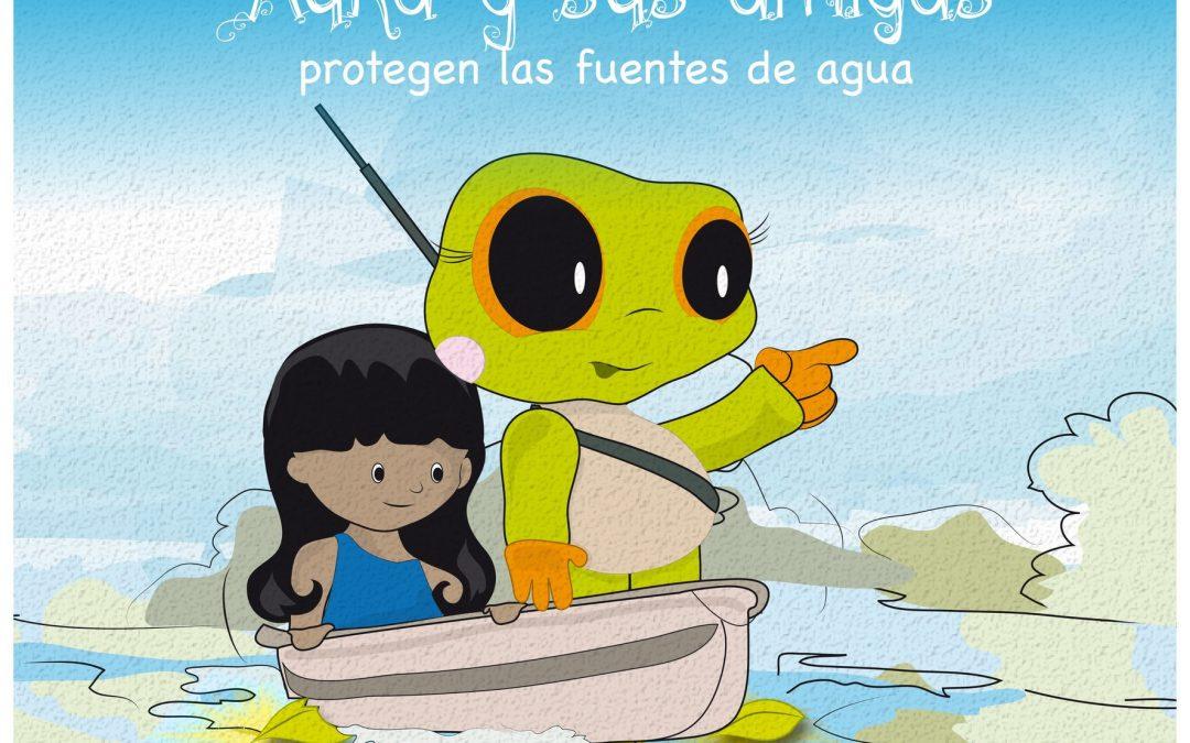 Auka y sus amigas protegen las fuentes de agua