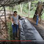 Construïm un biodigestor a l'Equador per promoure les energies renovables