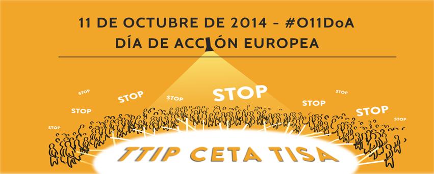 Día de acción global contra el TTIP