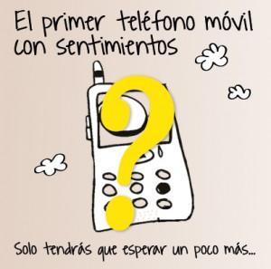 El primer teléfono móvil con sentimientos