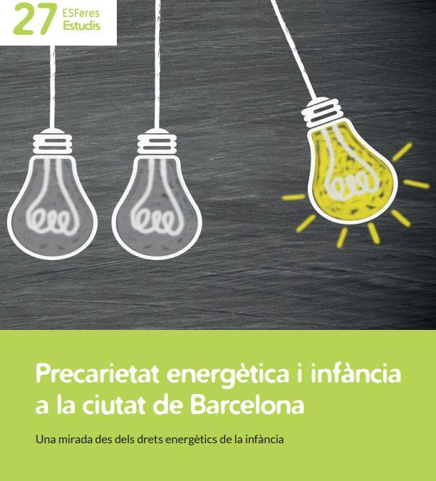 La precarietat energètica amenaça els drets dels infants a Barcelona