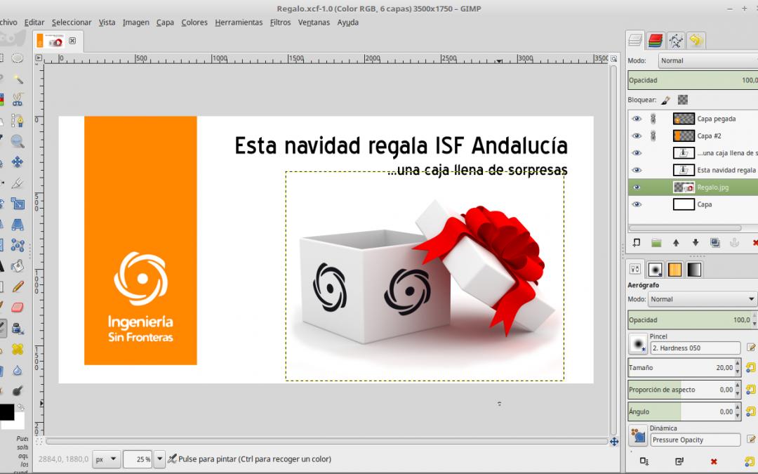 Qué hay detrás de la campaña de navidad de ISF Andalucía