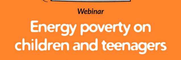 Webinar sobre la pobresa energètica en nens i adolescents