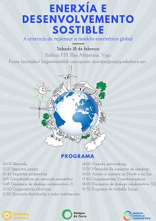 Xornadas sobre o modelo enerxético o 18 de febreiro en Vigo