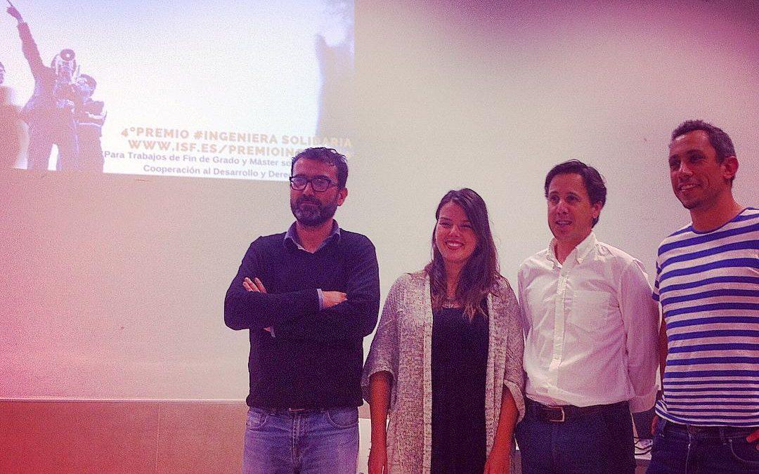 Ya tenemos ganadoras del IV Premio #IngenieríaSolidaria.