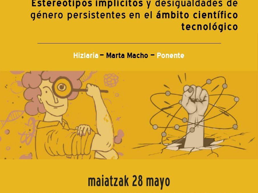 Estereotipos de género en ciencia y tecnología