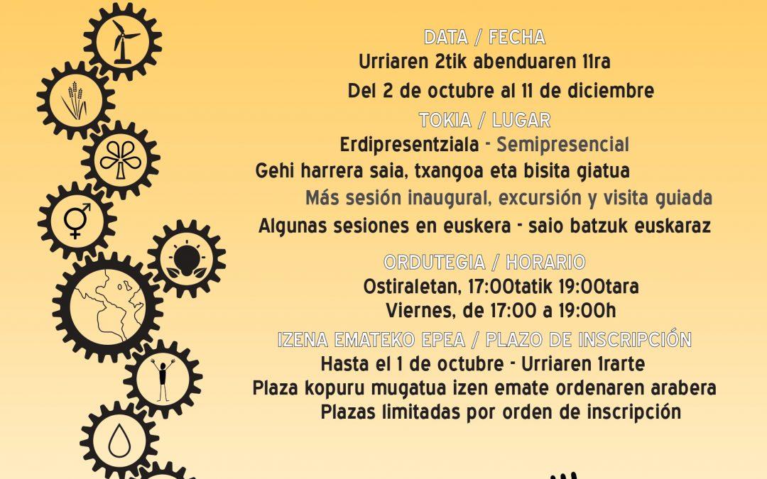 XXI Seminario sobre Desarrollo, Cooperación y Tecnologías para el Desarrollo Humano.