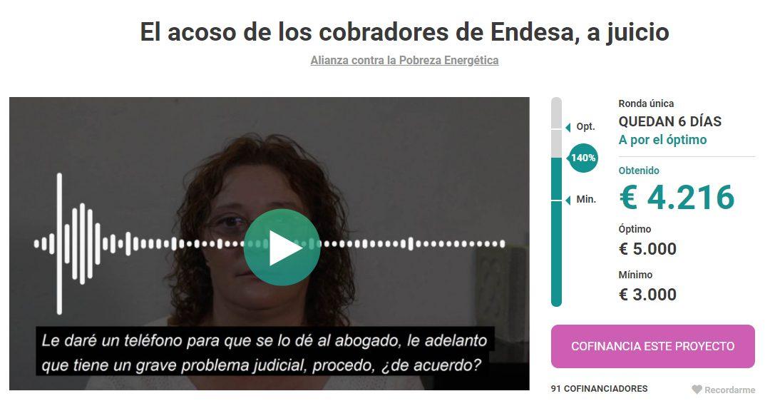 Recta final de la campanya #AcosoDeEndesaAJuicio