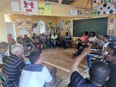 República Dominicana: Selección de la población beneficiaria, reuniones de planificación y creación del comité de beneficiarios