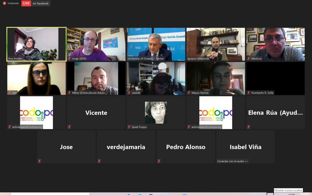 ISF Asturias participa en el encuentro entre los candidatos al Rectorado de la Universidad de Oviedo