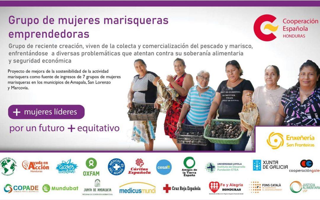 8M. Visibilizando a mulleres bravas de Honduras!