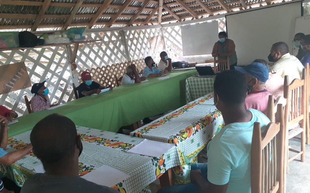 Curso de fortalecimiento para líderes de 3 asociaciones de República Dominicana