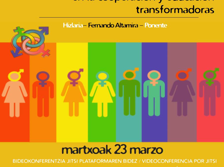 Incorporar la Diversidad Sexual y de Género en la cooperación y educación transformadoras no normativas