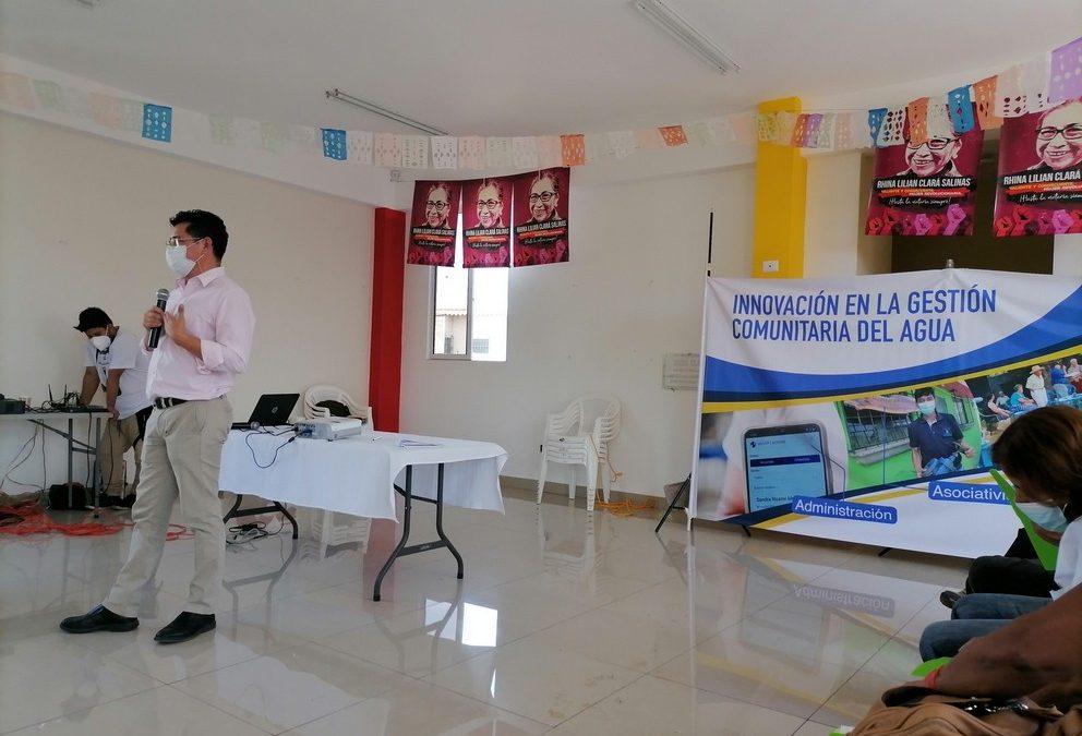 En El Salvador, el modelo de gestión comunitaria del agua, avanza con soluciones innovadoras