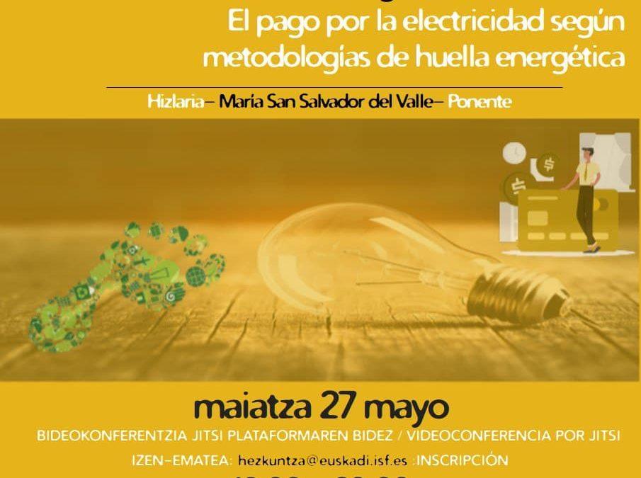 Justicia energética internacional: el pago por la electricidad según metodologías de huella energética