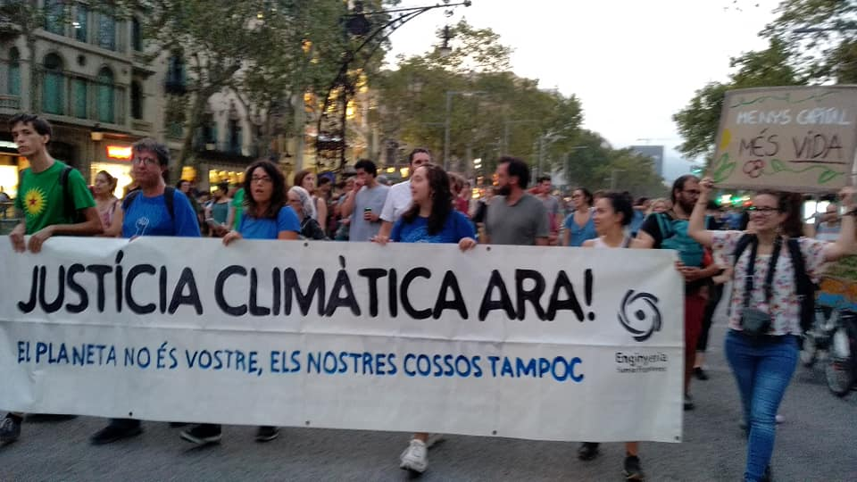 UNA LLEI DEL CLIMA INSUFICIENT, UNA OPORTUNITAT PERDUDA Hem d'insistir en la lluita per corregir la seva falta d'ambició