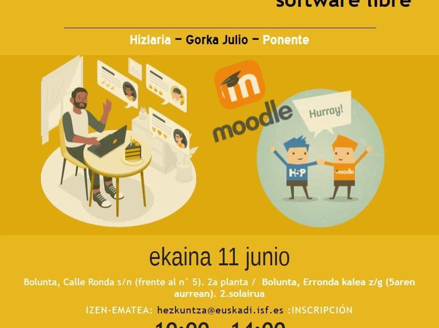 Diseño de formaciones online con software libre ¡Trae tu ordenador y aprende a manejar Moodle!