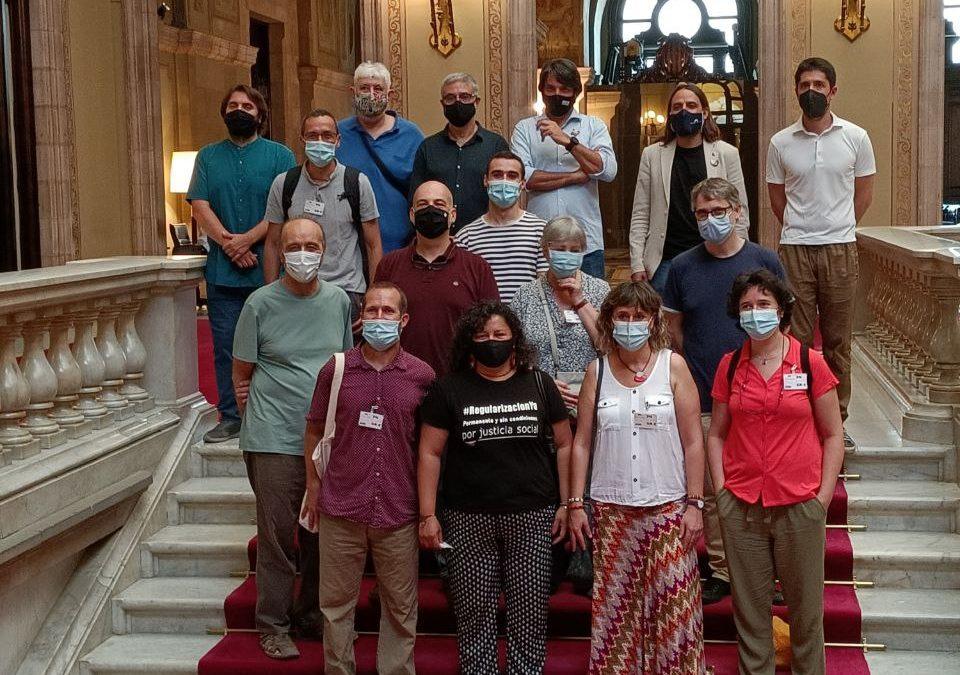 Més de 8.000 entitats i cooperatives impulsen la creació del Centre Català d'Empresa i Drets Humans