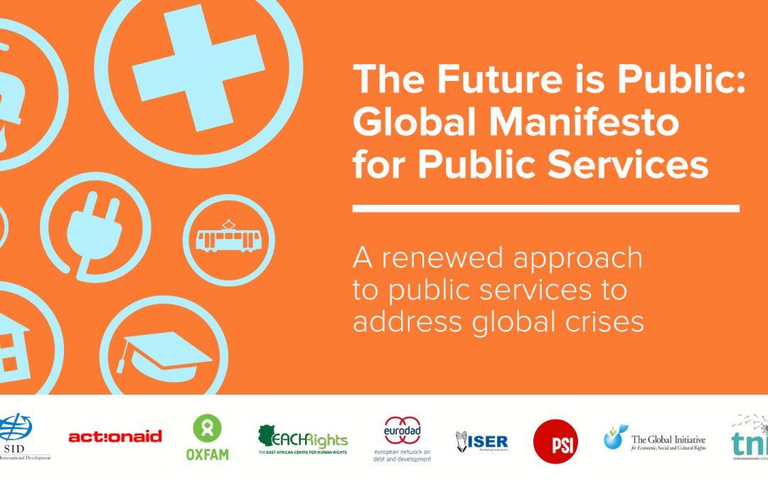 La societat civil s'uneix a tot el món per demanar una nova morada dels serveis públics per fer front a les crisis mundials